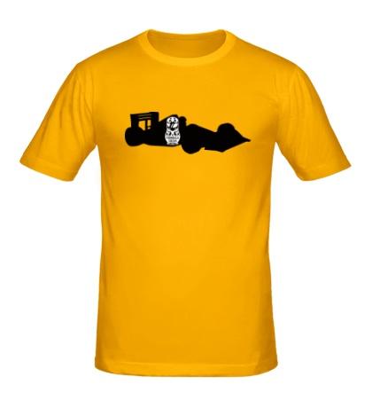 Мужская футболка Гоночный болид