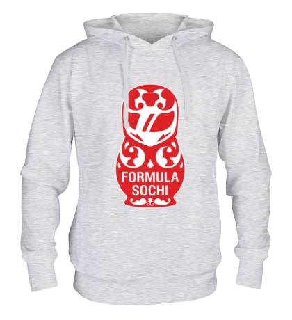 Толстовка с капюшоном Matryoshka F1: Sochi