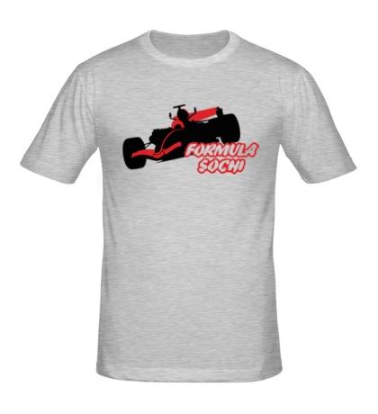 Мужская футболка Formula 1: Sochi