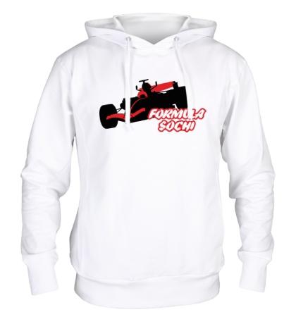 Толстовка с капюшоном Formula 1: Sochi