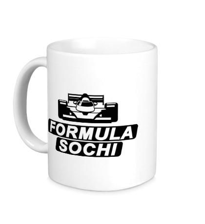 Керамическая кружка F1: Sochi
