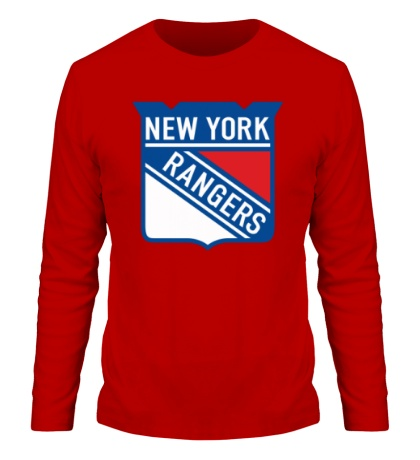 Мужской лонгслив HC New York Rangers Shield