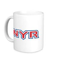 Керамическая кружка HC New York Rangers Sign