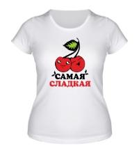 Женская футболка Самая сладкая