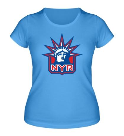 Женская футболка HC New York Rangers