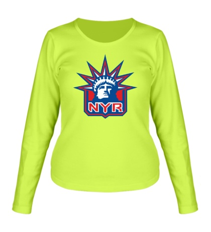 Женский лонгслив HC New York Rangers