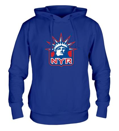 Толстовка с капюшоном HC New York Rangers