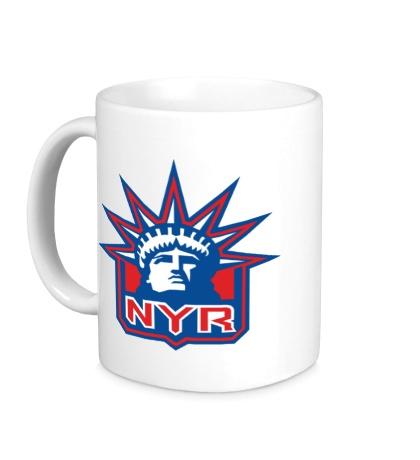 Керамическая кружка HC New York Rangers