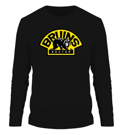 Мужской лонгслив HC Boston Bruins Label