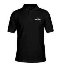 Рубашка поло Серп и молот в виде орла