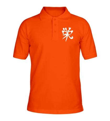 Рубашка поло Процветание: японский иероглиф