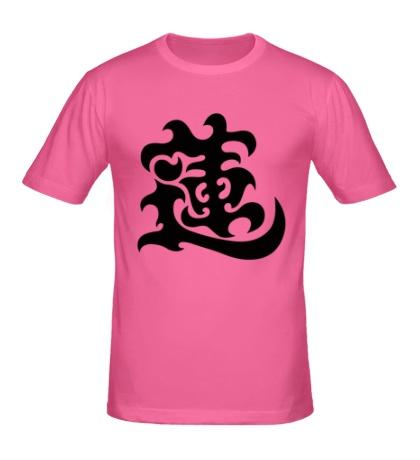 Мужская футболка Лотос: японский иероглиф