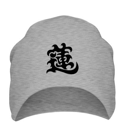 Шапка Лотос: японский иероглиф