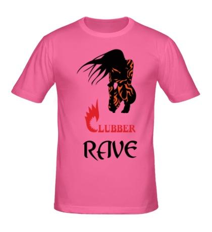 Мужская футболка Clubber Rave