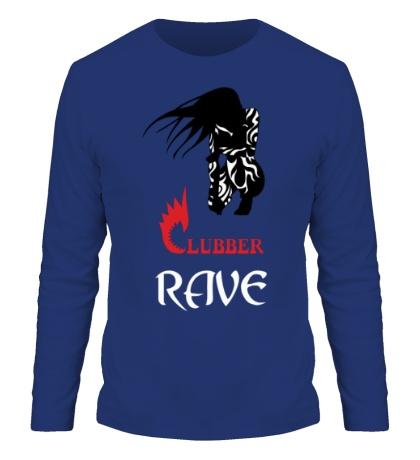 Мужской лонгслив Clubber Rave