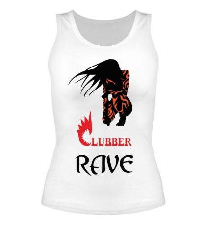 Женская майка Clubber Rave