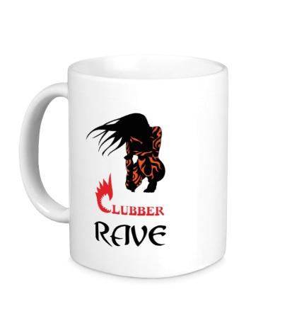 Керамическая кружка Clubber Rave