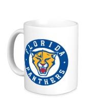 Керамическая кружка HC Florida Panthers