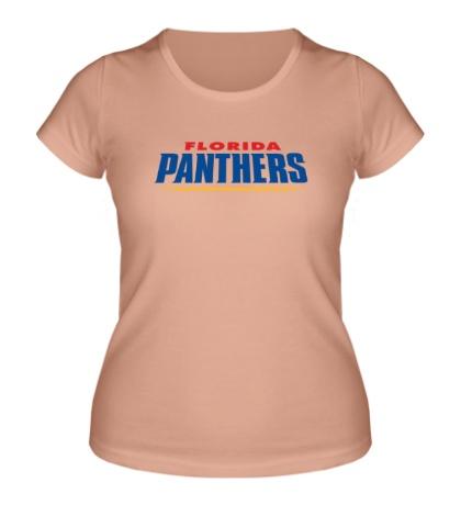 Женская футболка HC Florida Panthers Sign
