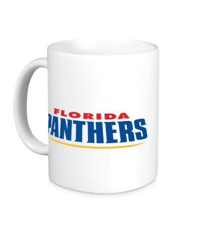 Керамическая кружка HC Florida Panthers Sign