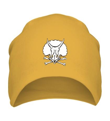 Шапка Череп носорога