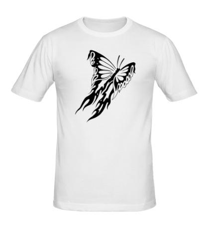 Мужская футболка Мотылек