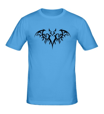 Мужская футболка Татуировка Бэтмена
