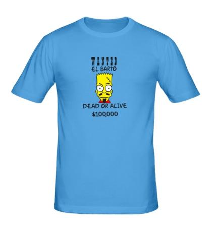 Мужская футболка El Barto