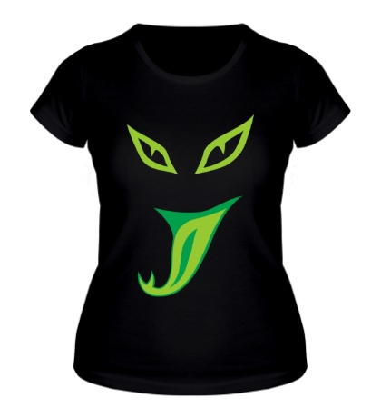 Женская футболка Змеиная мордочка