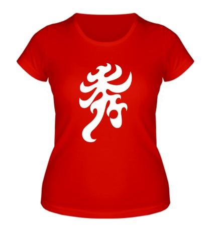 Женская футболка Элегантность: японский иероглиф