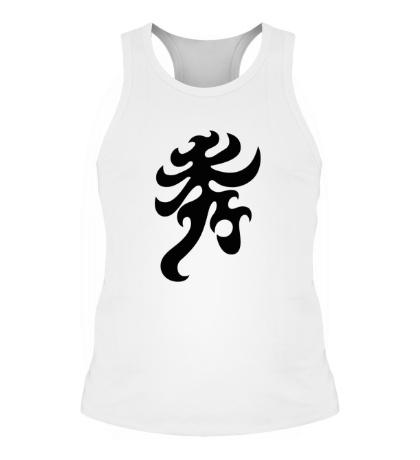 Мужская борцовка Элегантность: японский иероглиф