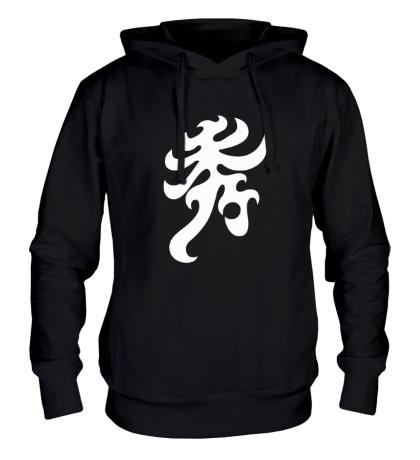 Толстовка с капюшоном Элегантность: японский иероглиф