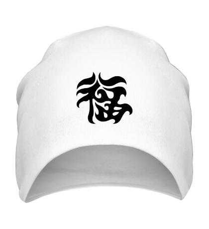 Шапка Удача: японский иероглиф