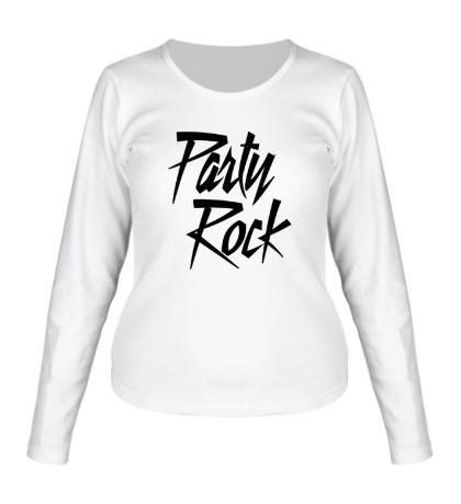 Женский лонгслив Party Rock