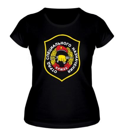 Женская футболка Нашивка ЕРМАК