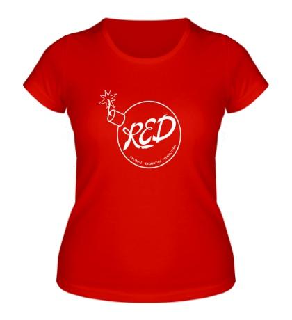 Женская футболка RED Team