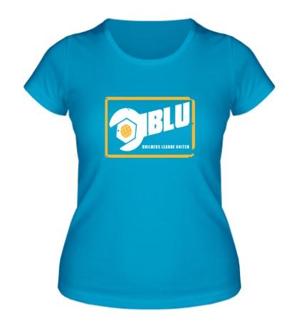 Женская футболка BLU Team