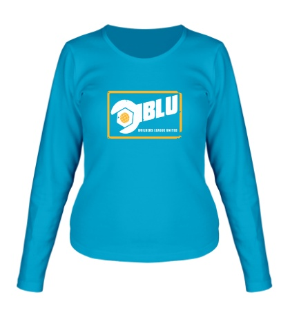 Женский лонгслив BLU Team