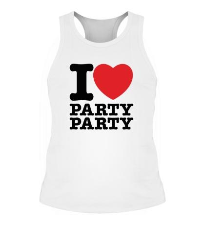 Мужская борцовка I love party