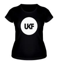 Женская футболка UKF Music