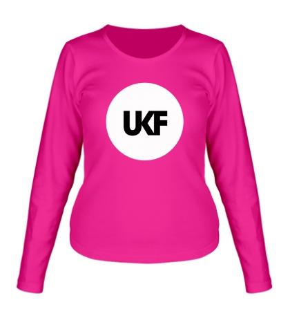 Женский лонгслив UKF Music