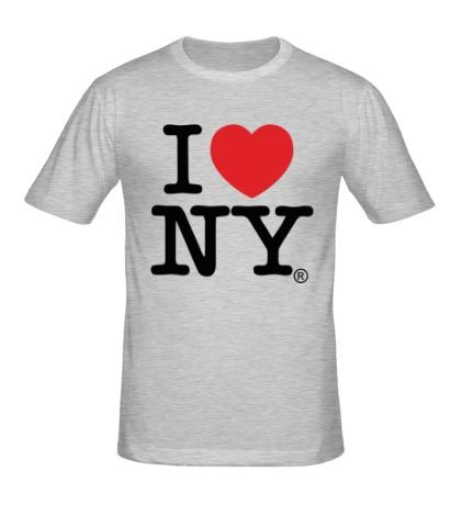 Мужская футболка I love NY Classic