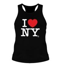 Мужская борцовка I love NY Classic