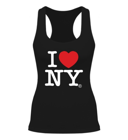 Женская борцовка I love NY Classic