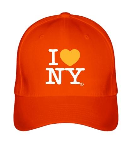Бейсболка I love NY Classic