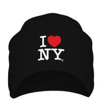 Шапка I love NY Classic