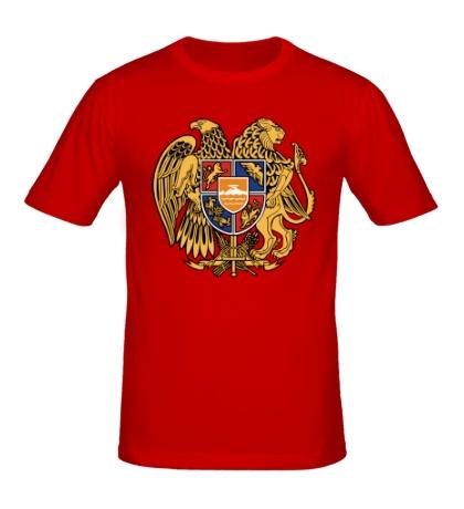 Мужская футболка Герб Армении