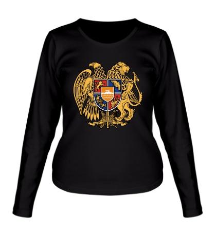 Женский лонгслив Герб Армении