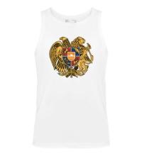 a4942fed2462f Мужская футболка Герб Армении - купить в интернет-магазине