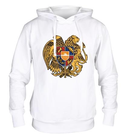 Толстовка с капюшоном Герб Армении